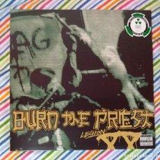 Discos de vinilo: BURN THE PRIEST - LEGION: XX 12'' LP GATEFOLD NUEVO Y PRECINTADO - HARDCORE THRASH METAL HEAVY METAL. Lote 194400587