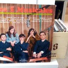 Discos de vinilo: LOS CINCO MUSICALES LP PH 1025 PALOBAL . Lote 194400973
