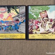 Discos de vinilo: LOTE 2 ZARZUELAS MARINA DOÑA FRANCISQUITA. Lote 194401157
