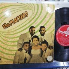 Discos de vinilo: THE PLATTERS LP 10'' ONLY YOU ESPAÑA 1958. Lote 194401610