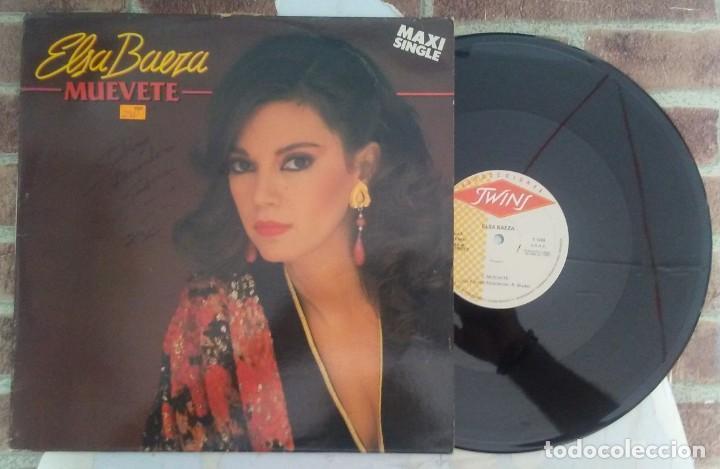 ELSA BAEZA MUEVETE/QUIEN ES USTED? MAXISINGLE TWINS 1987 (Música - Discos de Vinilo - Maxi Singles - Solistas Españoles de los 70 a la actualidad)