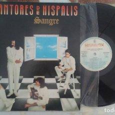 Discos de vinilo: CANTORES DE HISPALIS SANGRE HISPAVOX 1989 CON ENCARTE. Lote 194404988
