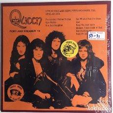 Discos de vinilo: QUEEN – PORTLAND STREAMER '74 -LP-. Lote 194408288