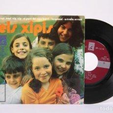 Discos de vinilo: DISCO EP DE VINILO - ELS XIPIS / XEPI, XEPI, XIP XIP, L'ESQUIMAL... - CONCENTRIC - AÑO 1971. Lote 194489515