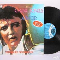 Discos de vinilo: DISCO LP DE VINILO - ELVIS PRESLEY / CANCIONES DE AMOR - K-TEL - AÑO 1979. Lote 194489662