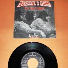 Discos de vinilo: APHRODITE'S CHILD. IT'S FIVE O,CLOCK. MERCURY RECORDS 1970. Lote 194489681