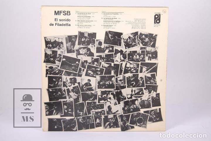 Discos de vinilo: Disco LP De Vinilo - MFSB El Sonido de Filadelfia - Philadelphia International Records - Año 1974 - Foto 3 - 194489687
