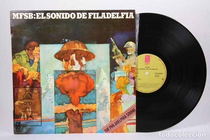 DISCO LP DE VINILO - MFSB EL SONIDO DE FILADELFIA - PHILADELPHIA INTERNATIONAL RECORDS - AÑO 1974 (Música - Discos - LP Vinilo - Funk, Soul y Black Music)