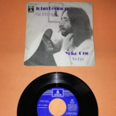 Discos de vinilo: JOHN LENNON. MOTHER, YOKO ONO . WHY. EMI ODEON 1971. Lote 194490326