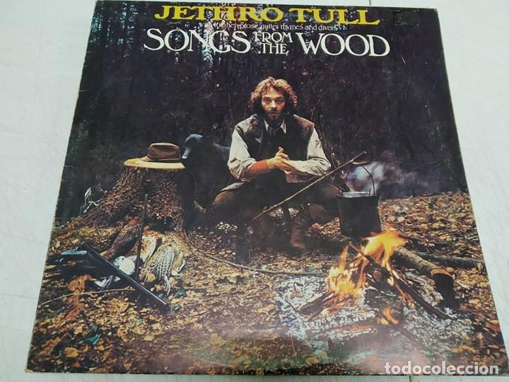 Discos de vinilo: Jethro Tull ‎– Songs From The Wood---EDICION ESPAÑOLA - Foto 1 - 194491250