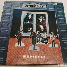 Discos de vinilo: JETHRO TULL – BENEFIT---EDICION ESPAÑOLA 1976. Lote 194491453