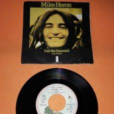 Discos de vinilo: MIKE HERON. CALL ME DIAMOND. ISLAND RECORDS. 1971. Lote 194491580