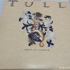 Discos de vinilo: JETHRO TULL - CREST OF A KNAVE --EDICION ESPAÑOLA 1987. Lote 194491947