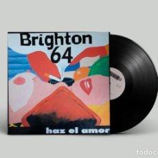 Discos de vinilo: BRIGHTON 64 – HAZ EL AMOR 1985 ESPAÑA. Lote 194492431