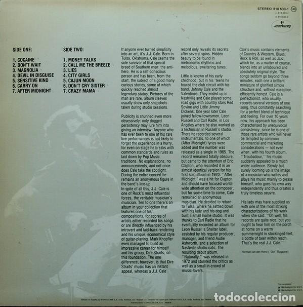 Discos de vinilo: J.J. Cale – Special Edition Folk Rock, Blues Rock, Country Blues - Foto 2 - 194492927