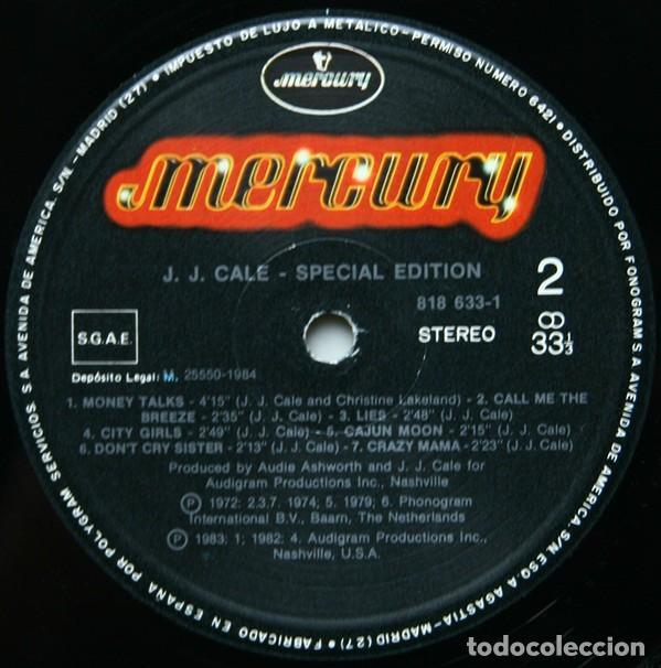 Discos de vinilo: J.J. Cale – Special Edition Folk Rock, Blues Rock, Country Blues - Foto 4 - 194492927