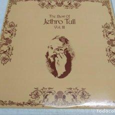 Discos de vinilo: JETHRO TULL - THE BEST OF JETHRO TULL VOL. III . Lote 194493382