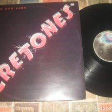 Discos de vinilo: THE CRETONES THIN RED LINE (1980-PLANET RECORDS) +ENCARTE OG ITALIA SIN SEÑALES DE USO. Lote 194495628