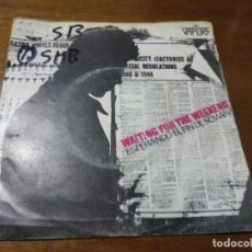 Discos de vinilo: THE VAPORS ‎– WAITING FOR THE WEEKEND / BILLY / 1980-ESPAÑA-NEW WAVE, PUNK. Lote 194496120