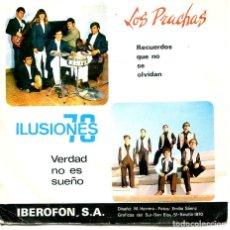 Discos de vinilo: LOS PRACHAS / RECUERDOS QUE NO SE OLVIDAN - ILUSIONES 70 / VERDAD NO ES SUEÑO (EP 1970). Lote 194496401