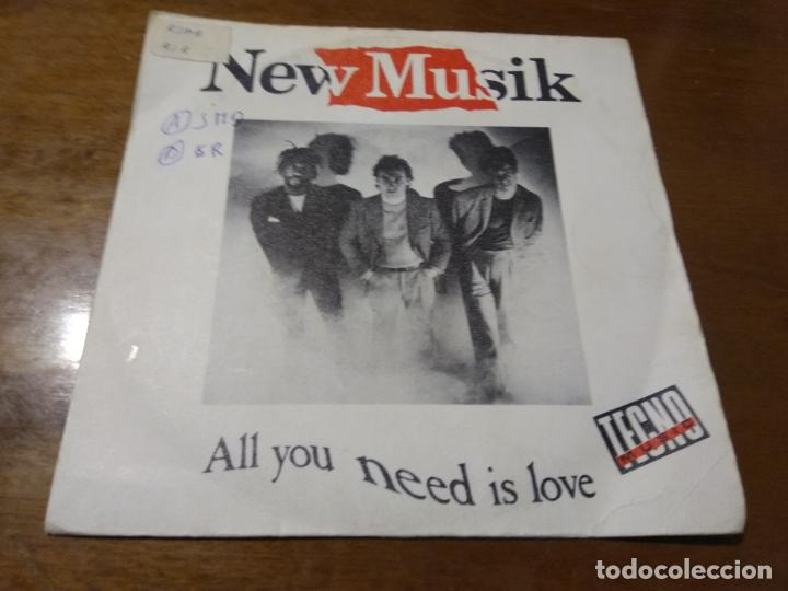 NEW MUSIK ‎– ALL YOU NEED IS LOVE / TWELFTH HOUSE / 1982-ESPAÑA- ELECTRONIC ESTILO: SYNTH-POP (Música - Discos - Singles Vinilo - Electrónica, Avantgarde y Experimental)