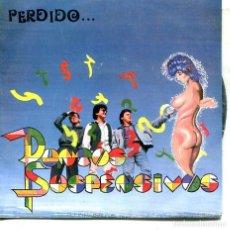 Discos de vinilo: PUNTOS SUSPENSIVOS / PERDIDO / ESTELA (SINGLE 1988). Lote 194496731