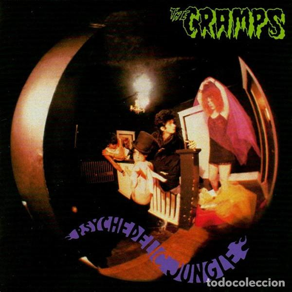 THE CRAMPS ‎– PSYCHEDELIC JUNGLE -LP- (Música - Discos - LP Vinilo - Rock & Roll)