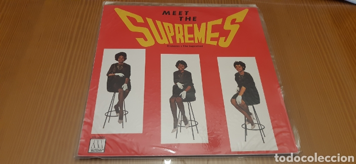 DISCO VINILO LP THE SUPREMES (Música - Discos - LP Vinilo - Funk, Soul y Black Music)
