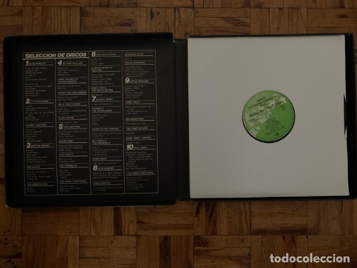 Discos de vinilo: Las grandes estrellas del rock - caja con 10 LPs - Foto 2 - 194498643