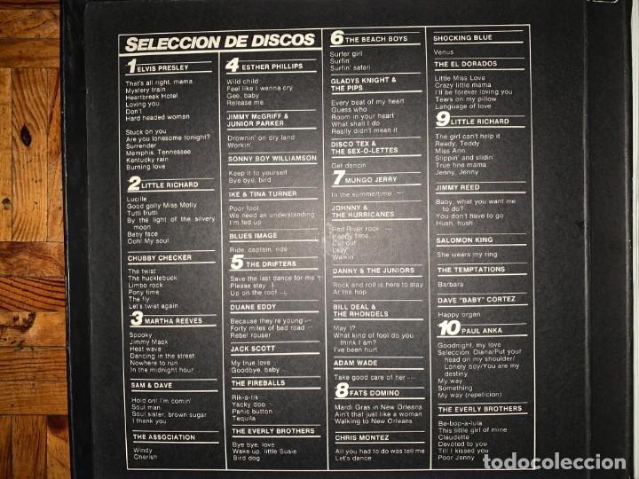 Discos de vinilo: Las grandes estrellas del rock - caja con 10 LPs - Foto 3 - 194498643