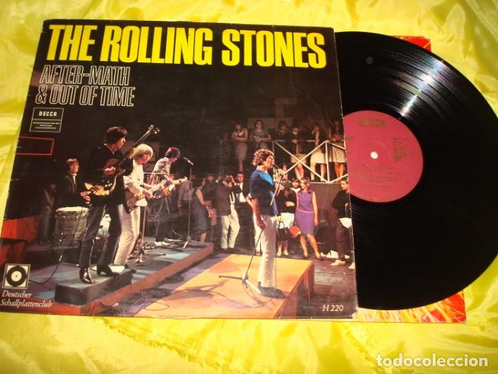 THE ROLLING STONES. AFTER-MATH & OUT OF TIME. DECCA,DEUTSCHER SCHALLPLATTENCLUB. 1967. H-220 (#) (Música - Discos - LP Vinilo - Pop - Rock Extranjero de los 50 y 60)