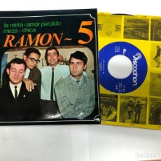 Discos de vinilo: EP RAMON-5 /LA RATITA/AMOR PERDIDO/MIRZA/CHICA COVER DE THE BEATLES VG++. Lote 194499741