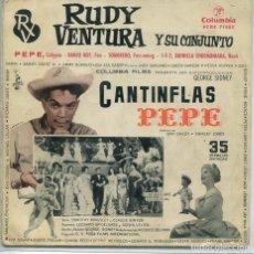 Discos de vinilo: RUDY VENTURA (SOLO CARATULA). Lote 194499857