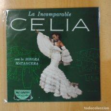 Discos de vinilo: CELIA CRUZ - LA INCOMPARABLE CELIA - LP. Lote 194500383