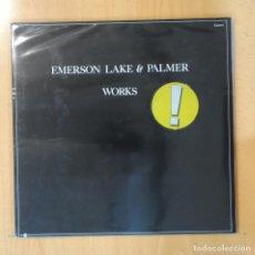 Discos de vinilo: EMERSON LAKE & PALMER - WORKS - GATEFOLD - 2 LP. Lote 194500431