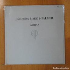 Discos de vinilo: EMERSON LAKE & PALMER - WORKS - LP. Lote 194500433