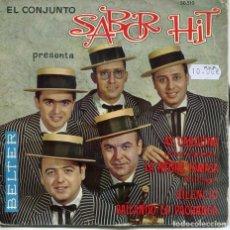 Discos de vinilo: SABOR HIT / AY CAROLINA + 3 (EP 1961). Lote 194500598