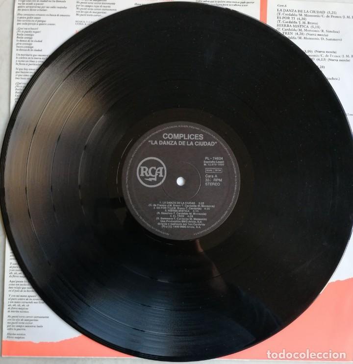 Discos de vinilo: Complices* – La Danza De La Ciudad, RCA, BMG Ariola España -PL 74624 (5C) - Foto 5 - 194501131