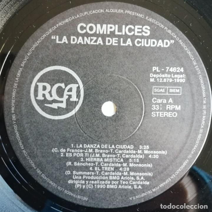 Discos de vinilo: Complices* – La Danza De La Ciudad, RCA, BMG Ariola España -PL 74624 (5C) - Foto 6 - 194501131