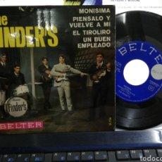 Discos de vinilo: THE FINDER'S EP MONISIMA + 3 1966. Lote 194501901