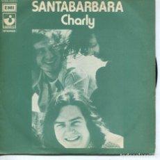 Discos de vinilo: SANTA BARBARA / CHARLY / SAN JOSE (SINGLE ITALIANO). Lote 194502100