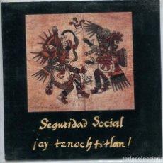 Discos de vinilo: SEGURIDAD SOCIAL (SOLO CARATULA). Lote 194502388