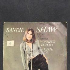 Discos de vinilo: SANDIE SWAW SINGLE DE 1967. Lote 194502768