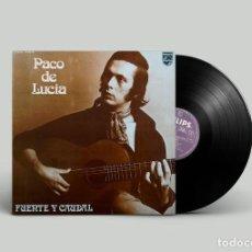 Discos de vinilo: PACO DE LUCIA - FUENTE Y CAUDAL - EDICIÓN MÉXICO. Lote 194502922