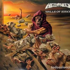 Discos de vinilo: HELLOWEEN - WALLS OF JERICHO (LP, ALBUM, RE, 180). Lote 194503240