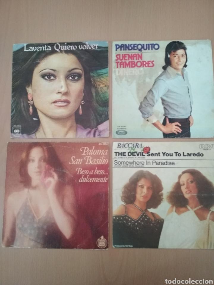LOTE DE 4 SINGLES. (Música - Discos - Singles Vinilo - Otros estilos)