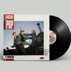 Discos de vinilo: NACHA POP – EL MOMENTO - 1987 - POLYDOR. Lote 194503931