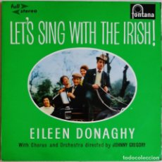 Discos de vinilo: EILEEN DONAGHY ‎– LET'S SING WITH THE IRISH, FONTANA STFL.502. Lote 194503966