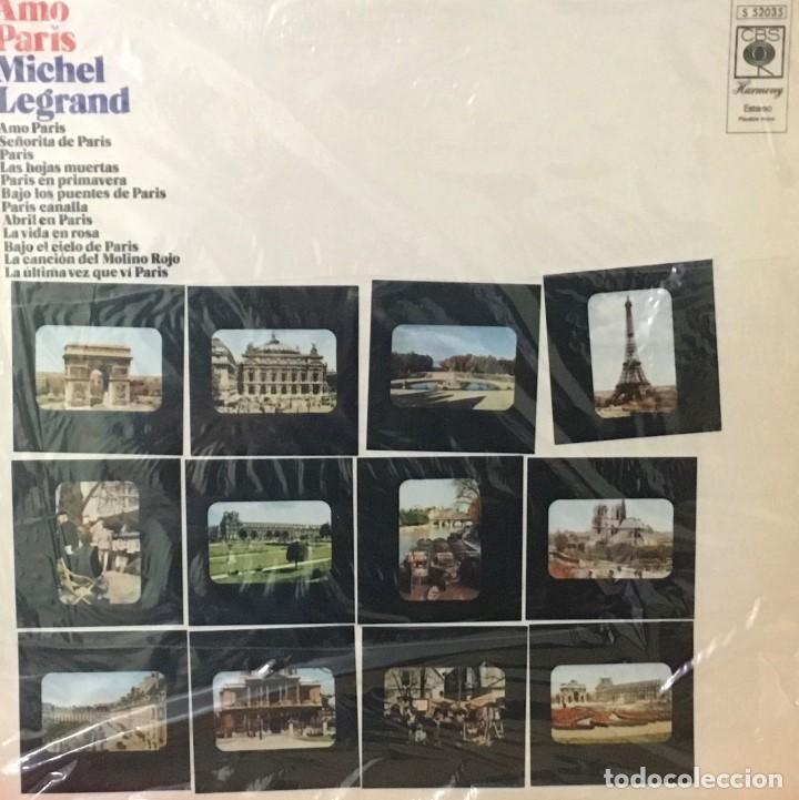 MICHEL LEGRAND - AMO PARIS (Música - Discos - LP Vinilo - Étnicas y Músicas del Mundo)