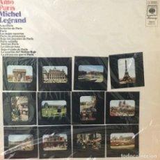 Discos de vinilo: MICHEL LEGRAND - AMO PARIS. Lote 194504393